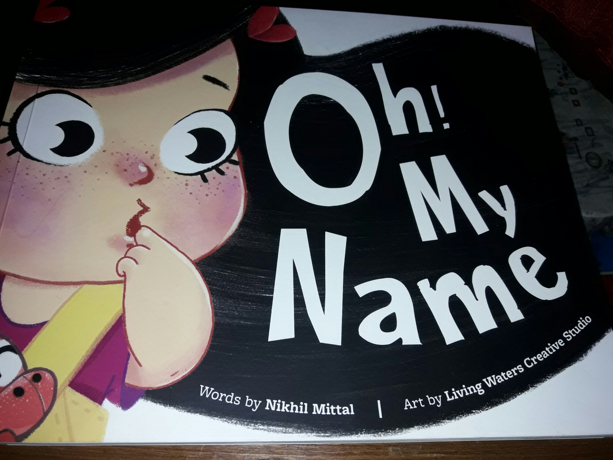Book Love for your little one: Oh My Name!