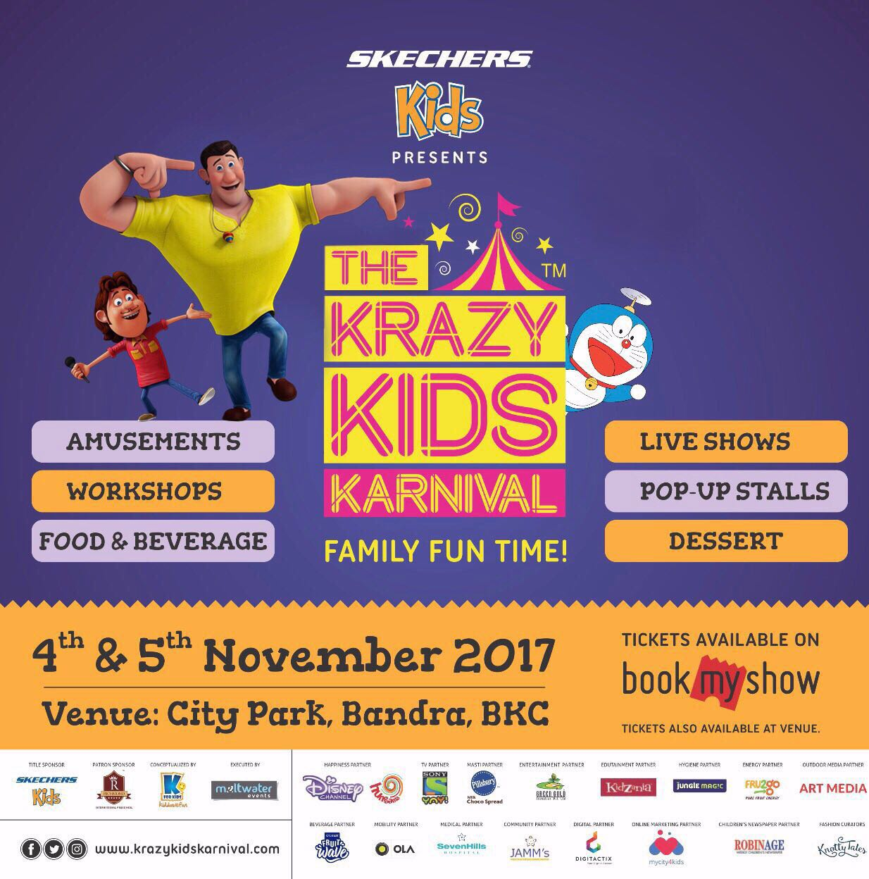 Krazy Kids Karnival – Fun & Activities