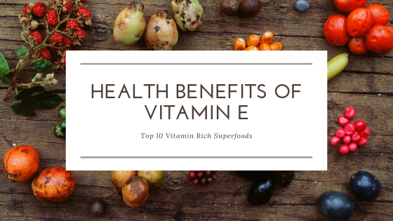vitamin E rich food